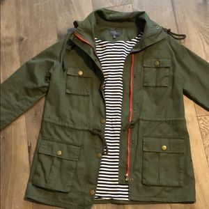Chaplin Essentials Lined Hooded Anorak Jacket